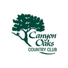 Logo of golf course named Canyon Oaks Country Club