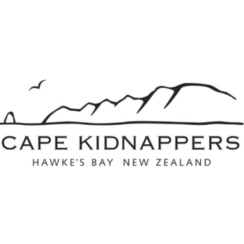 Logo of golf course named Cape Kidnappers Golf Course
