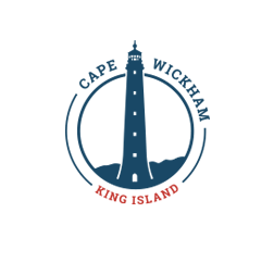 Logo of golf course named Cape Wickham