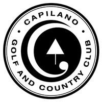 Logo of golf course named Capilano Golf and Country Club