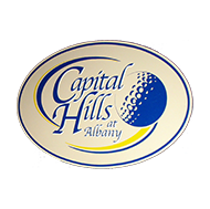 Logo of golf course named Capital Hills at Albany