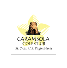 Logo of golf course named Carambola Golf Club
