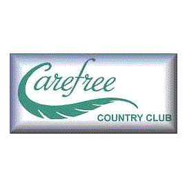 Logo of golf course named Carefree Country Club