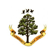 Logo of golf course named Carnoustie Golf Links