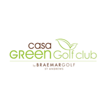 Logo of golf course named Casa Green Golf Club