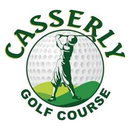 Logo of golf course named Casserly Par-3 Golf Course