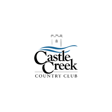 Logo of golf course named Castle Creek Country Club