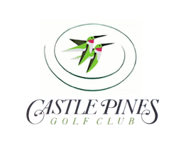 Logo of golf course named Castle Pines Golf Club
