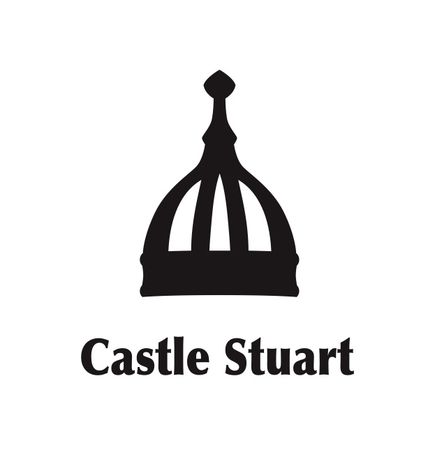 Logo of golf course named Castle Stuart Golf Links