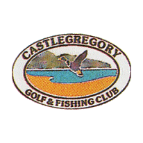 Logo of golf course named Castlegregory Golf and Fishing Club
