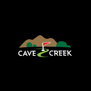 Logo of golf course named Cave Creek Golf Course