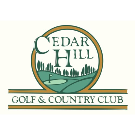 Logo of golf course named Cedar Hill Golf and Country Club