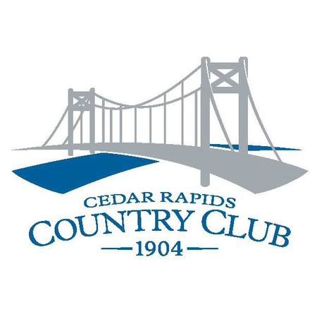 Logo of golf course named Cedar Rapids Country Club
