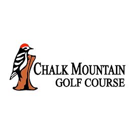Logo of golf course named Chalk Mountain Golf Course