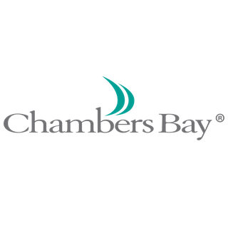 Logo of golf course named Chambers Bay Golf Course