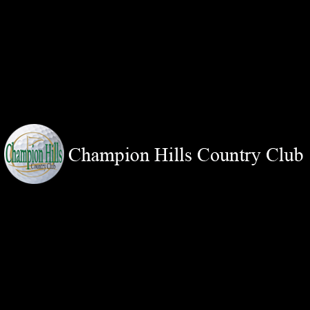 Logo of golf course named Champion Hills Country Club