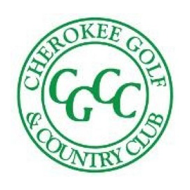 Logo of golf course named Cherokee Golf and Country Club