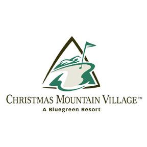 Logo of golf course named Christmas Mountain Village