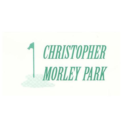 Logo of golf course named Christopher Morley Park Golf Course
