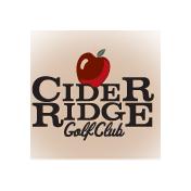 Logo of golf course named Cider Ridge Golf Club