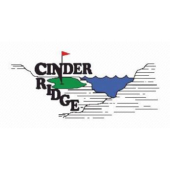 Logo of golf course named Cinder Ridge Golf Course