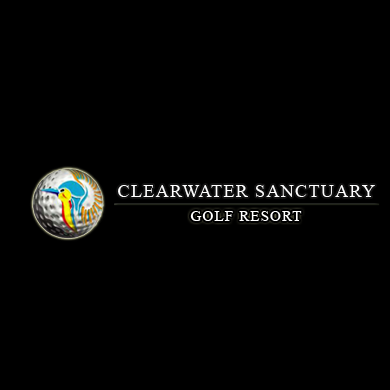 Logo of golf course named Clearwater Sanctuary Golf Resort