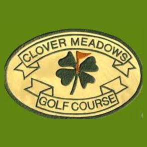 Logo of golf course named Clover Meadow Golf Course
