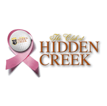 Logo of golf course named Club at Hidden Creek, The