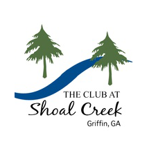 Logo of golf course named Club at Shoal Creek