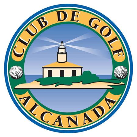 Logo of golf course named Club de Golf Alcanada