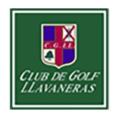 Logo of golf course named Club de Golf Llavaneras