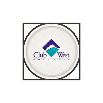 Logo of golf course named Club West Golf Course