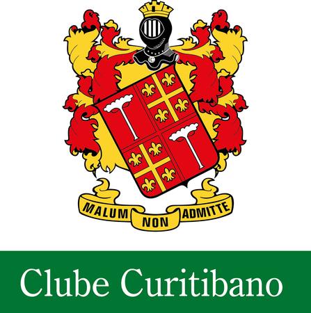 Logo of golf course named Clube Curitibano de Golfe