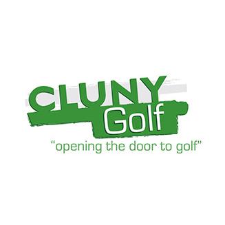 Logo of golf course named Cluny Clays Golf Club