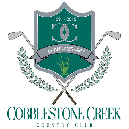 Logo of golf course named Cobblestone Creek Country Club