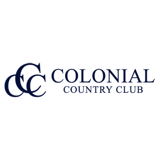 Logo of golf course named Colonial Country Club