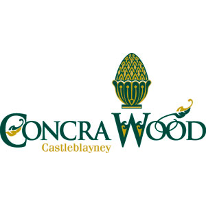 Logo of golf course named Concra Wood Golf and Country Club