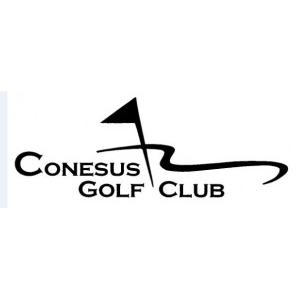 Logo of golf course named Conesus Golf Club