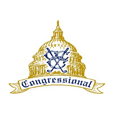 Logo of golf course named Congressional Country Club