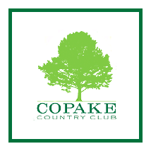 Logo of golf course named Copake Country Club
