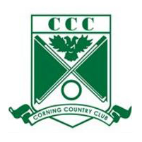 Logo of golf course named Corning Country Club