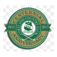 Logo of golf course named Cortland Country Club