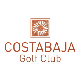 Logo of golf course named Costabaja Golf Club and Resort