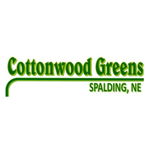 Logo of golf course named Cottonwood Greens Golf Course