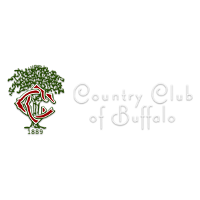 Logo of golf course named Country Club of Buffalo