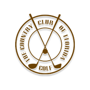 Logo of golf course named Country Club of Florida