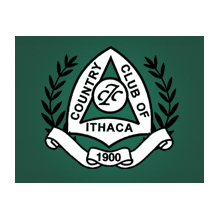 Logo of golf course named Country Club of Ithaca