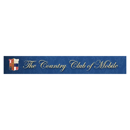 Logo of golf course named Country Club of Mobile