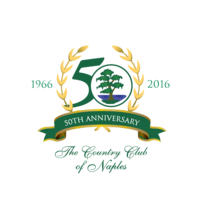 Logo of golf course named Country Club of Naples