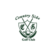 Logo of golf course named Country Side Golf Club